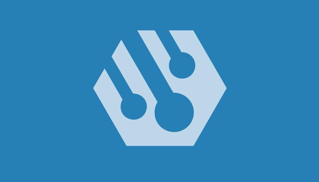 Ny frittfall-logo. Inspirert av tracking.