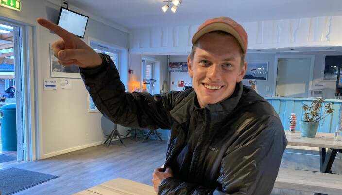 Bjørn Falkenberg på NM 2020