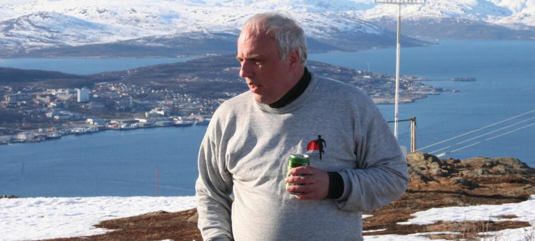 Trond Larsen er tildelt NLFs gullnål