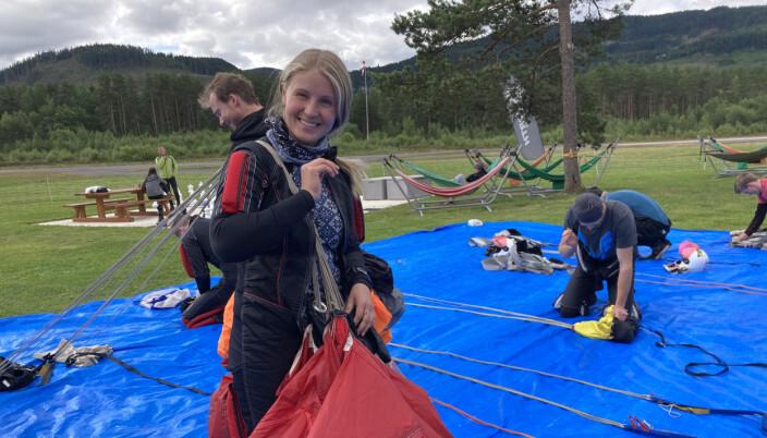 Nadia Jørgenrud, og lagkameratene fra Agera (i bakgrunnen) har blitt landslag i FS4