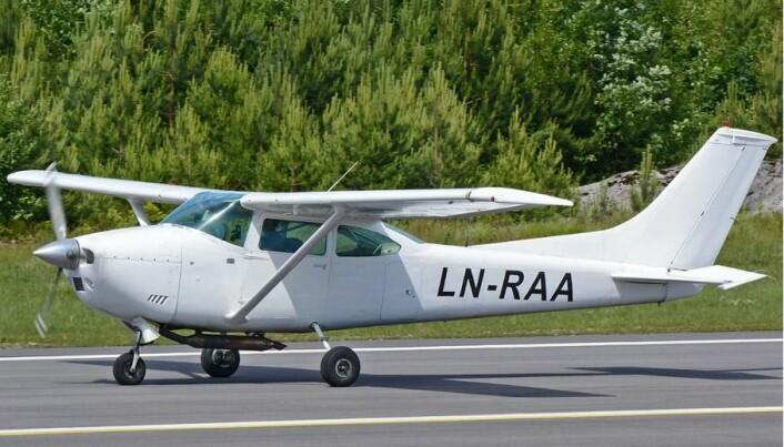 LN-RAA flyr året rundt på Hamar