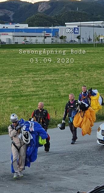 Sen sesongåpning i Bodø FSK 2020