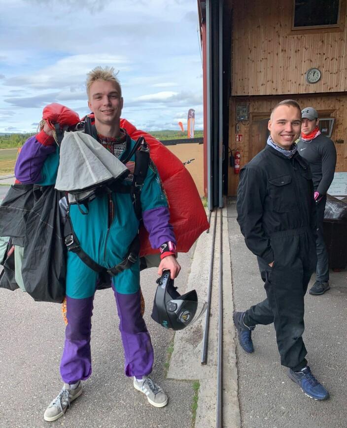 Magnus Aune og Isak Knutsen