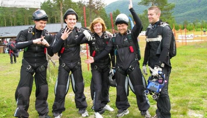 x3M4s under norgescup på Voss i 2009. Yngve, Kjetil, Marianne, Tore og Børre.