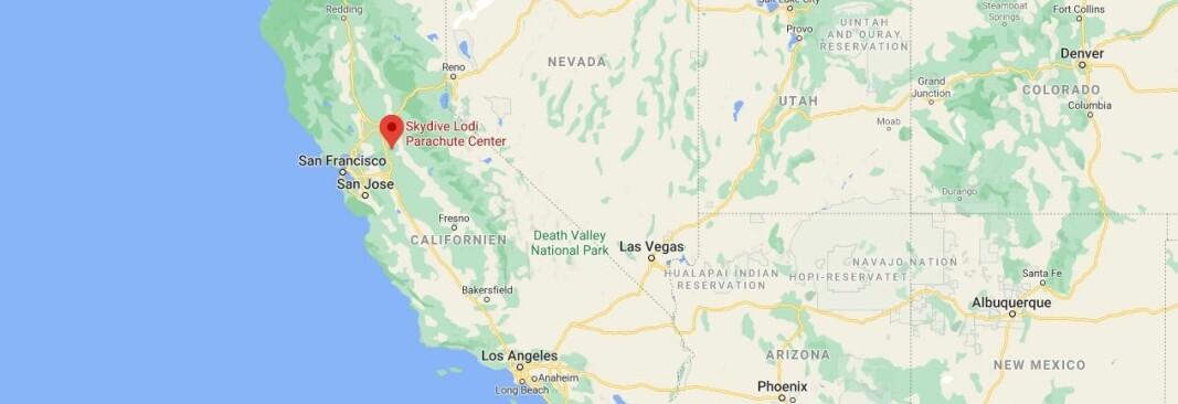 Skydive Lodi, i California