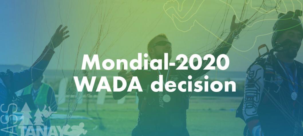 Mondial i Russland er godkjent av WADA