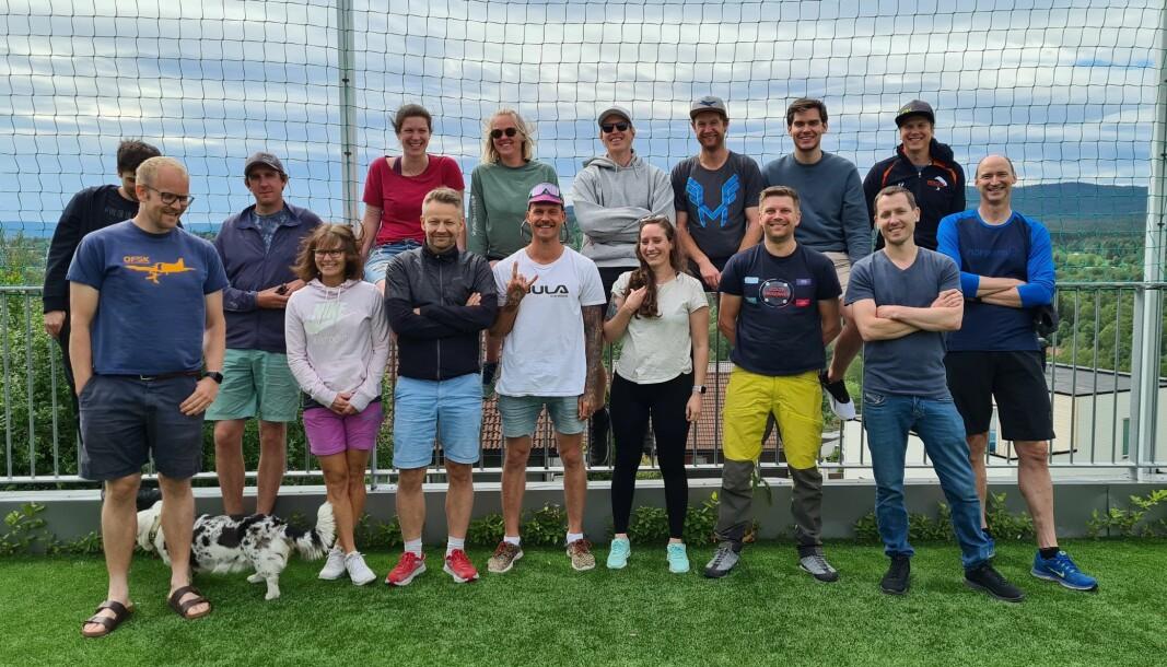 Deltagere på I2-samling på Rønningen Folkehøgskole