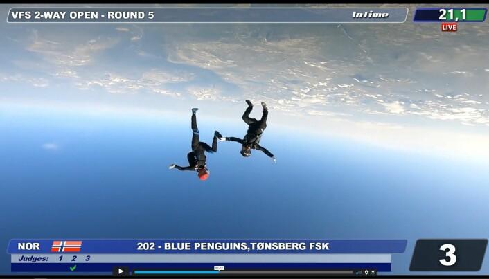 Blue Penguins tok andreplassen