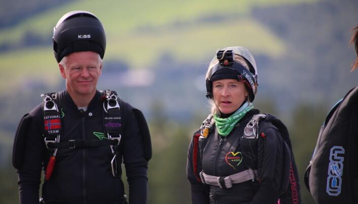 Arrangørkomiteens Carl-Erik Tuv, og Anna Fasting, klar for løft på NM 2021