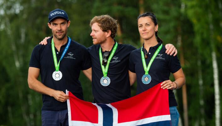 Sølv til Norge i Wingsuit Akro