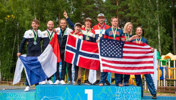 Gull til Norge i Freefly