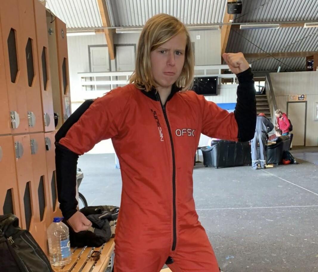 Ny norsk rekord for Sjur Nilsen (16)