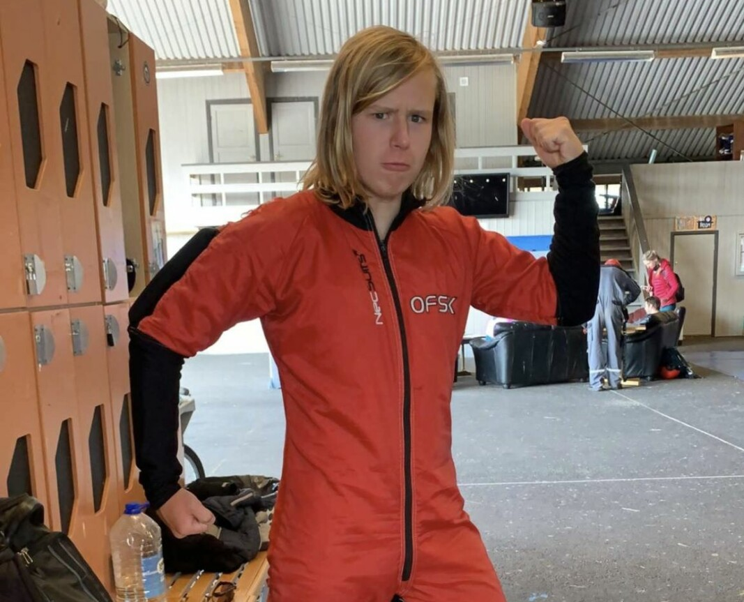 Sjur Nilsen (16), norges yngste AFF-elev