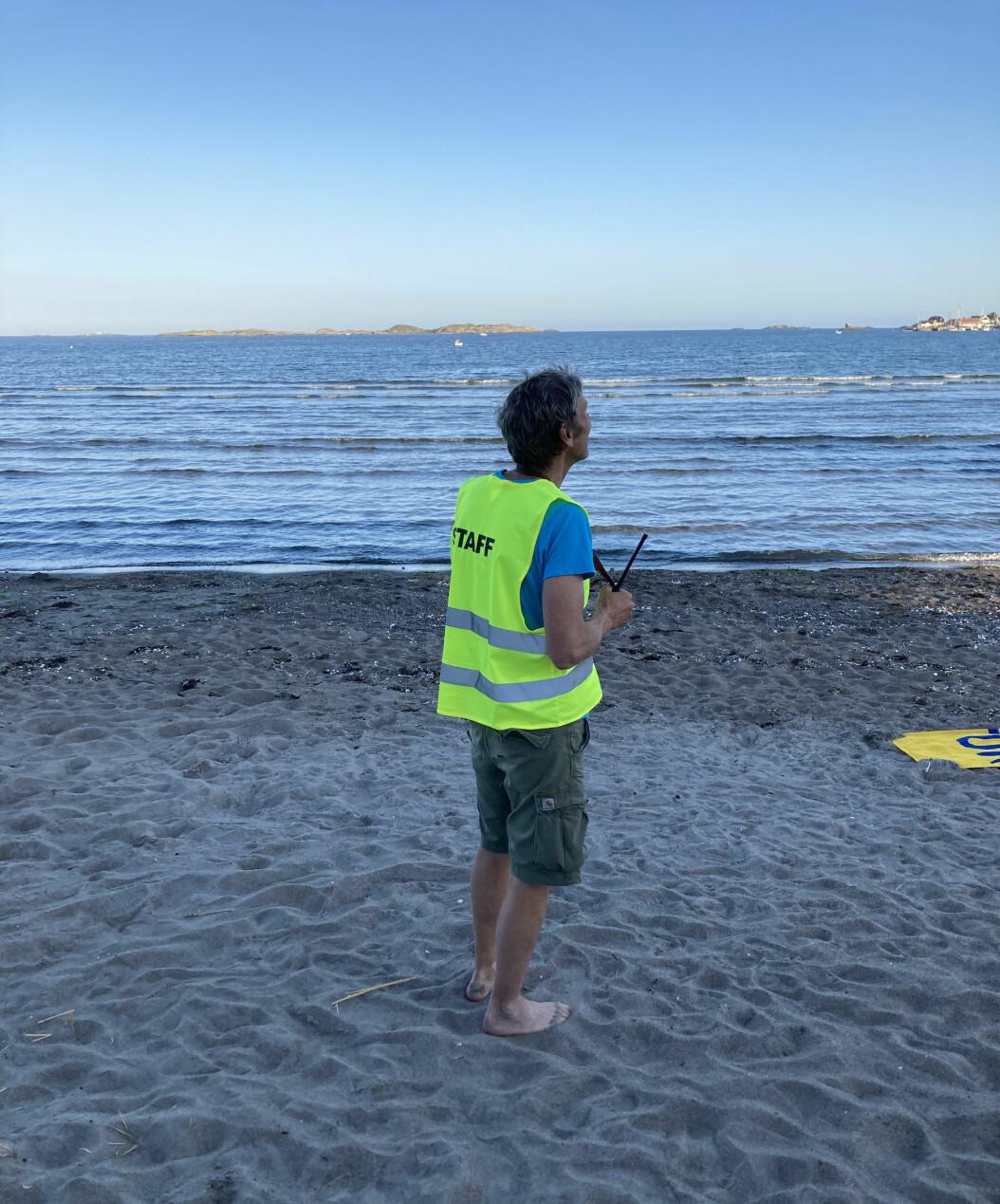 Som daglig leder kan du organisere deg til en arbeidsdag på stranden, hvis du har lyst til det.