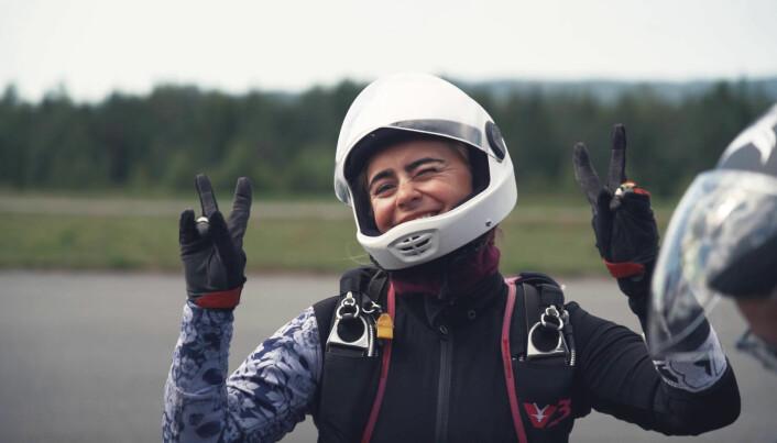 Lene Ekle på flying chicks 2021